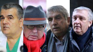 Şerban Brădişteanu, Mircea Beuran, Mihai Lucan, Gheorghe Burnei