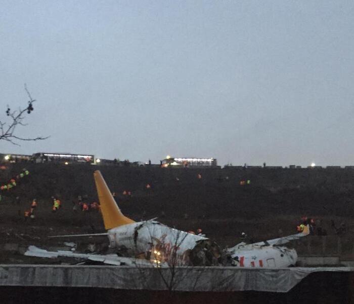 avion iesit de pe pista in Turcia