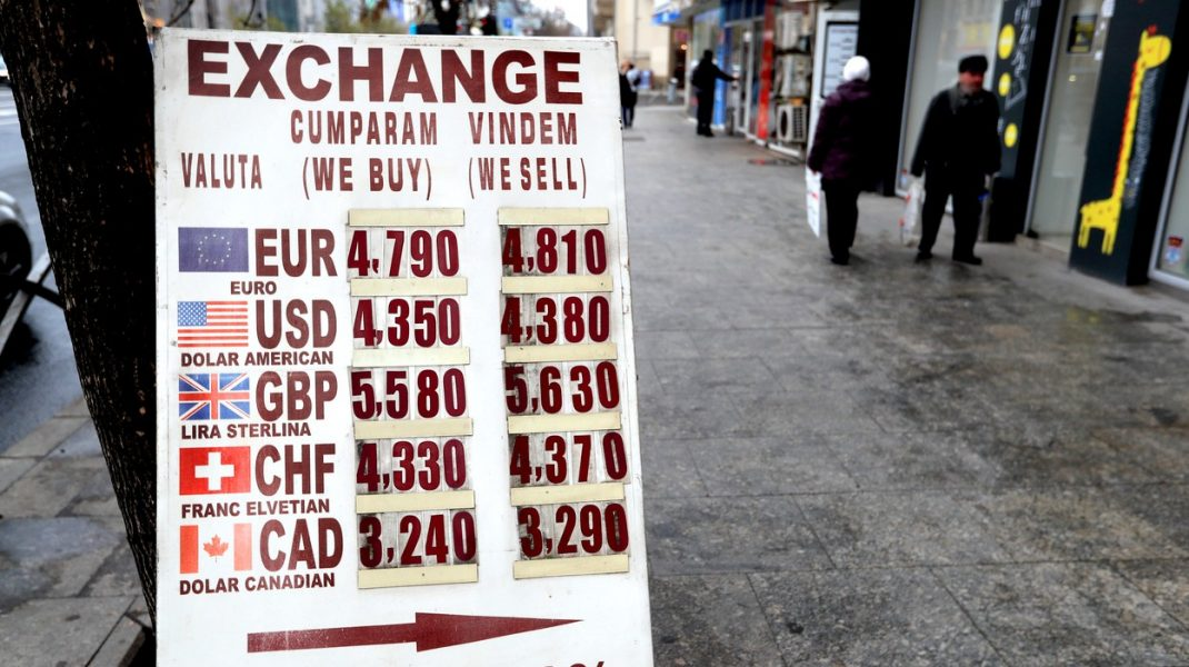 exchange, bani, romania, salarii