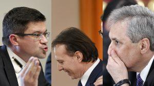 Marcel Vela, Florin Cîţu şi Costel Alexe