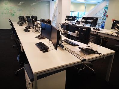 Cum arată birourile unei firme de IT care e pregătită de revenirea angajaților luna viitoare