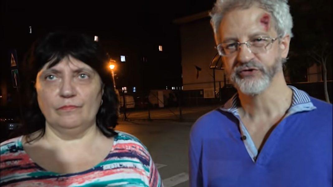 """Scandalul termoscanării de la supermarketul din Ferentari, regizat. """"Actorii"""" au venit cu cameră şi microfon"""