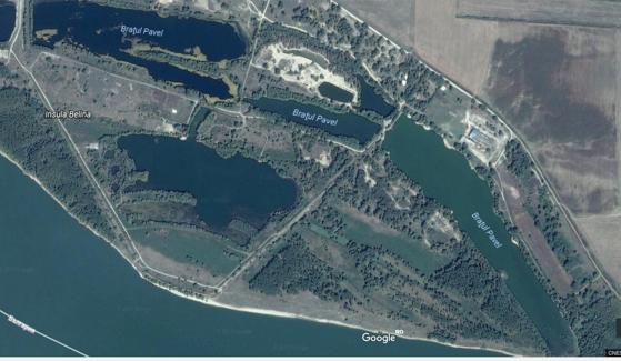 Unităţi de cazare, construite ilegal. Iată ce a găsit Ministrul Mediului pe Insula Belina