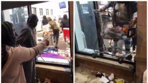 SUA scapă situația de sub control. E haos pe străzile mai multor oraşe: magazine și spații publice vandalizate