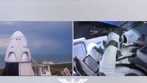 Prima lansare în spațiu a unei nave SpaceX, cu astronauți la bord, a fost amânată în ultima clipă din cauza vremii nefavorabile