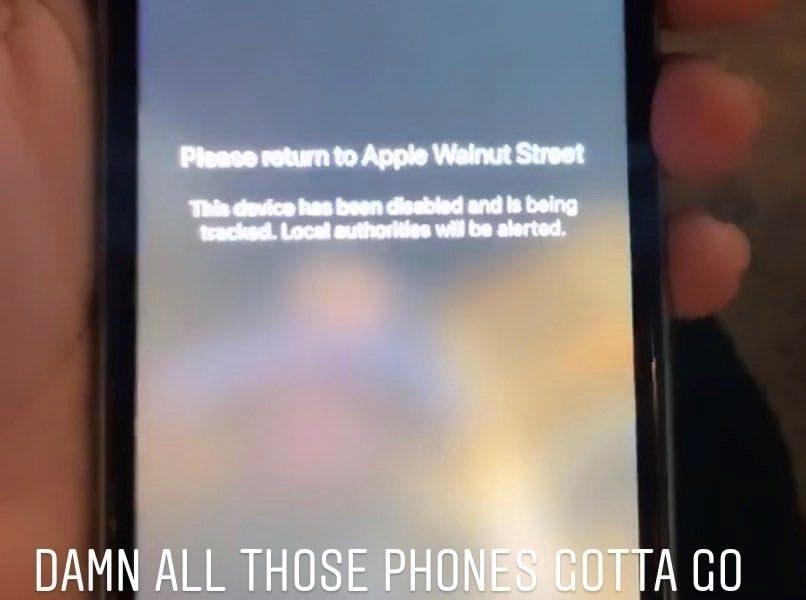 """Apple, mesaj pentru hoţii din SUA, direct pe telefonul furat: """"Ești urmărit!"""""""