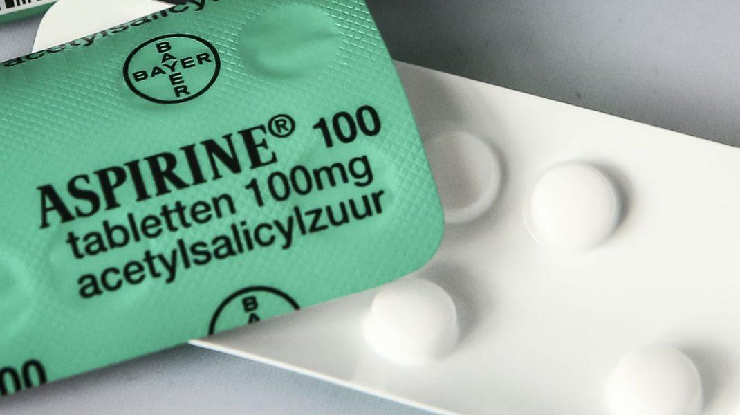 tableta de aspirina