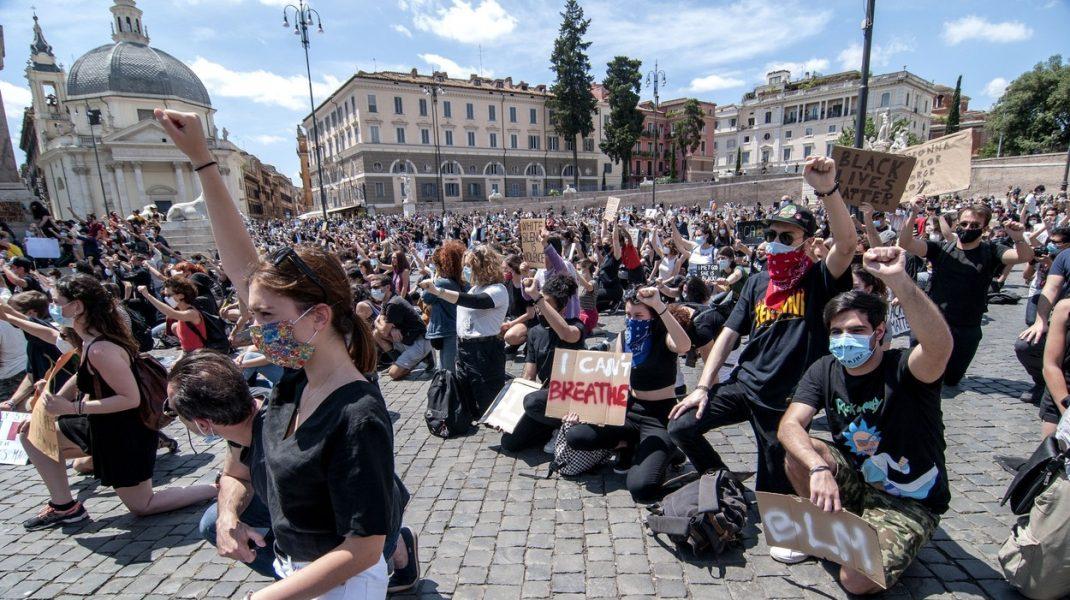 De la Madrid la Roma. Europenii se alătură valului de proteste împotriva rasismului