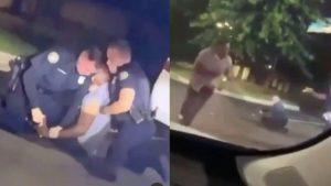 Noi imagini arată confruntarea dintre Rayshard Brooks și polițiști, înainte ca afro-americanul să fie împușcat mortal