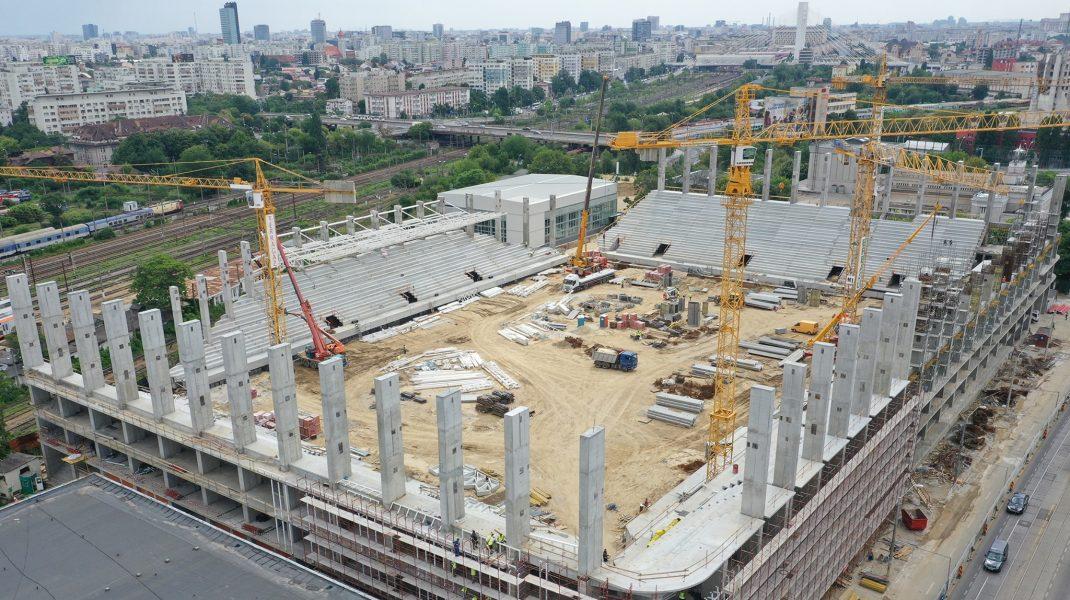 Noi imagini cu stadioanele Ghencea, Giuleşti şi Arcul de Triumf
