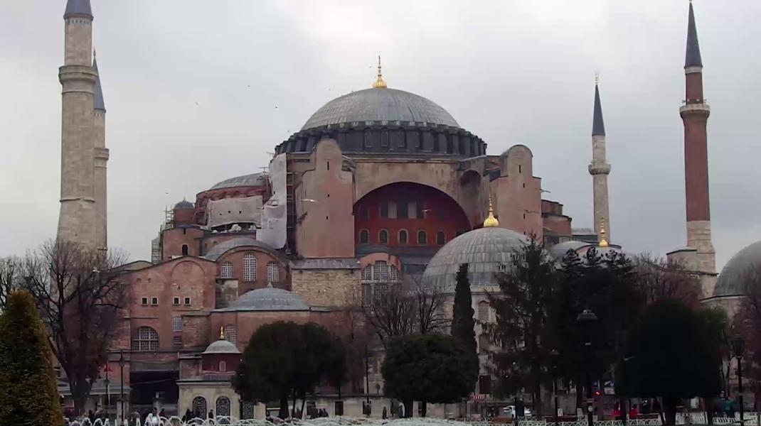 """Catedrala ortodoxă """"Sfânta Sofia"""", din Istanbul, va fi deschisă pentru vizitatori"""