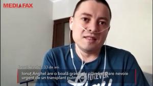 Într-un sistem sufocat de Covid, Ionuţ Anghel nu poate face încă transplant pulmonar: care e motivul