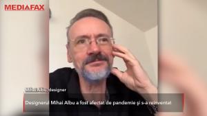 Mihai Albu, afectat de pandemie. Ce vinde designerul acum pentru a rămâne pe linia de plutire