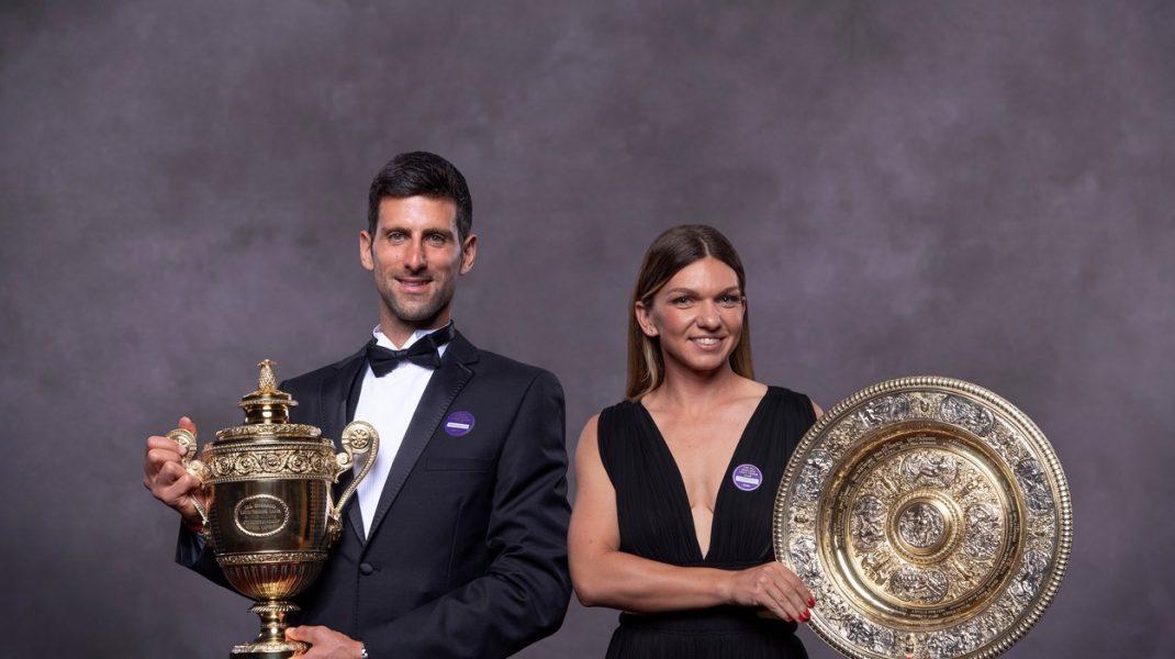De ce a refuzat Halep să danseze cu Djokovic la gala de la Wimbledon