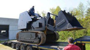 Un moldovean a vrut să construiască un tanc și să dărâme guvernul de la Roma cu el