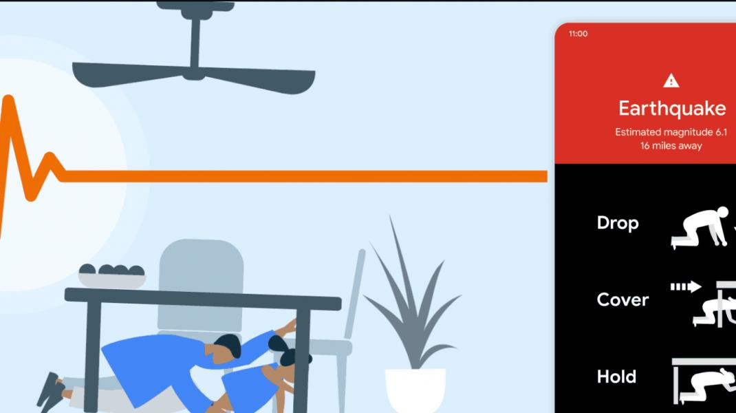 Cum ar putea să te avertizeze un telefon Android că urmează un cutremur