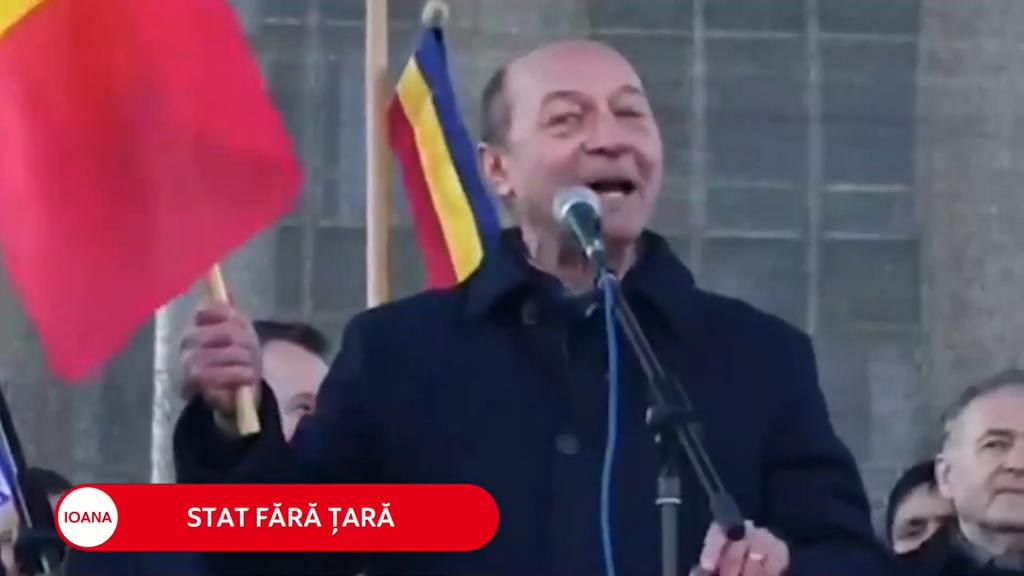 Băsescu despre unirea cu Moldova