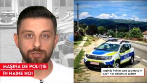 Noul model al mașinilor Poliției Române este copiat de la automobilele polițiștilor europeni
