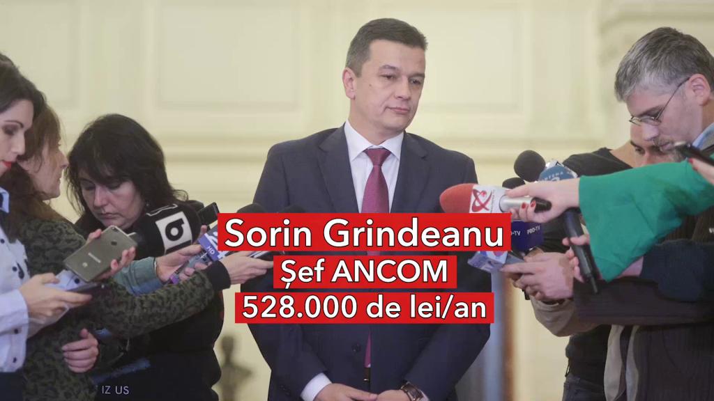 Salariu Sorin Grindeanu, șef ANCOM