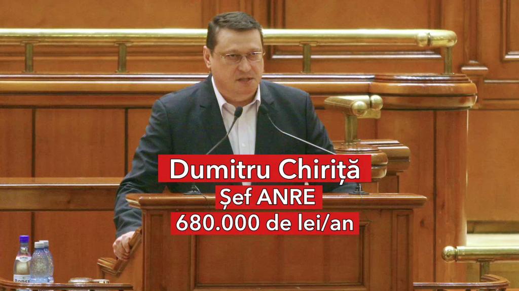 Salariu Dumitru Chiriță, șef ANRE