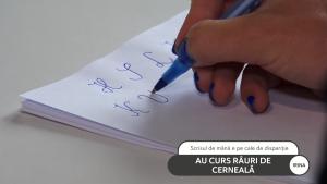 Impactul scrisului de mână asupra arhitecturii creierului uman