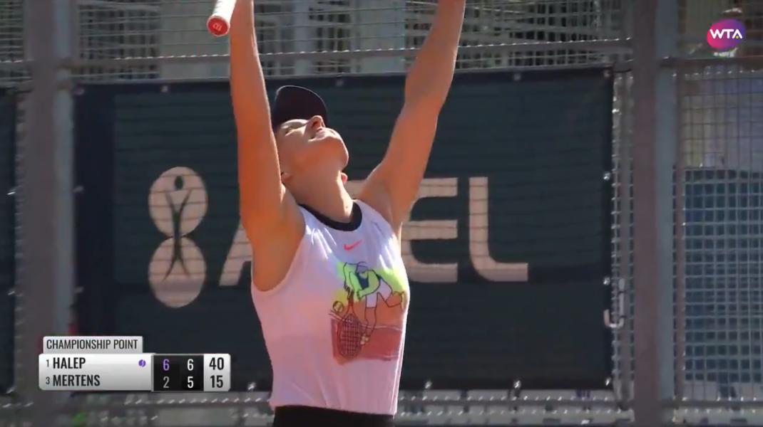 Simona Halep, campioană la Praga. Scorul cu care a învins-o pe Mertens