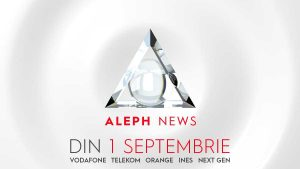 BREAKING NEWS. Vezi Aleph News pe cablu și mobil. Și te vezi!