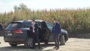 Aflat în vizită la Timişoara, lui Ludovic Orban i s-a cerut demisia la portavoce