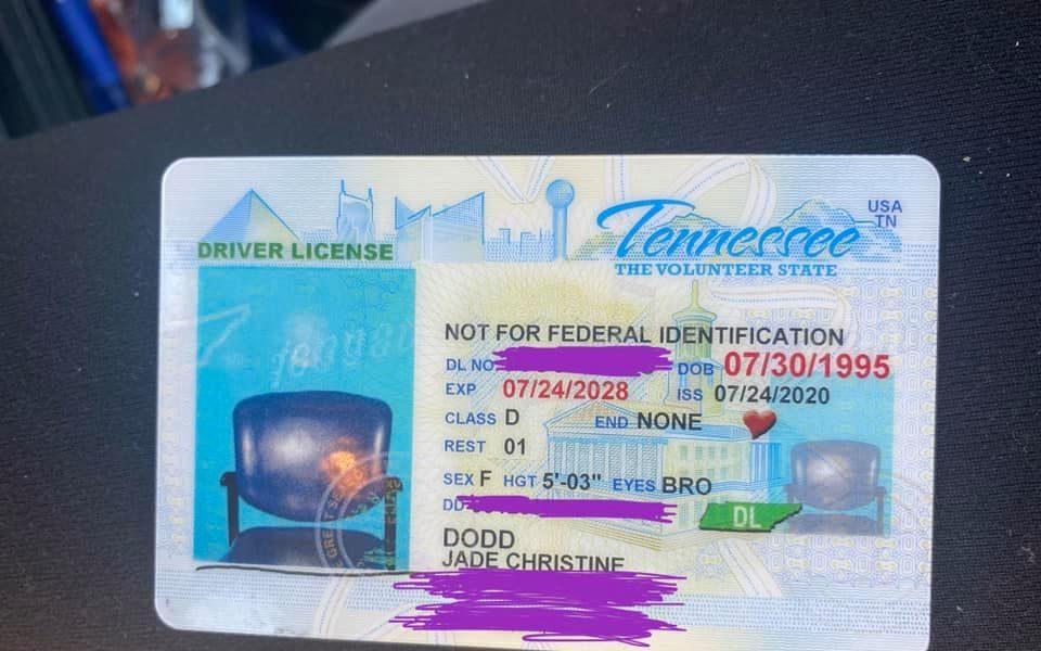 O femeie a fost uimită când a văzut un scaun în loc de chipul ei în poza din permisul de conducere