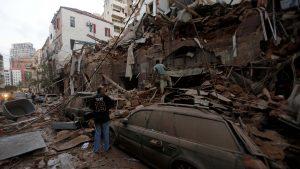 Urmările exploziei din Beirut: 300.000 de oameni au rămas fără locuințe