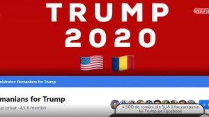 Românii lui Trump. Cum îl susțin ei pe președintele american