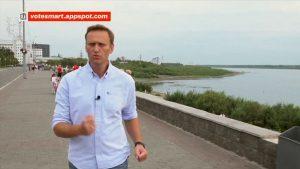 "Navalny filmat înainte de otrăvire: ""Declar război Rusiei Unite"""