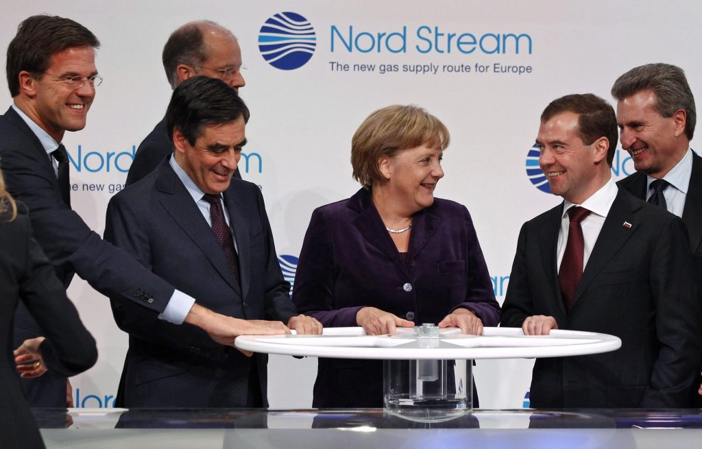 Nord Stream 2 Angela Merkel