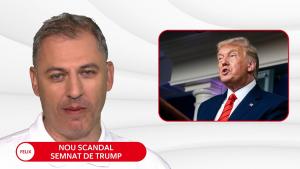 """Trump șochează din nou: Țara """"arde"""", iar șeful de la Casa Albă dă autografe"""