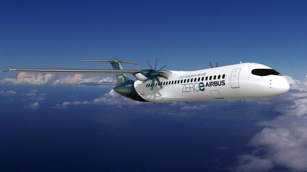 Airbus promite avioane cu emisii zero, alimentate cu hidrogen: imagini cu cele 3 concepte dezvăluite