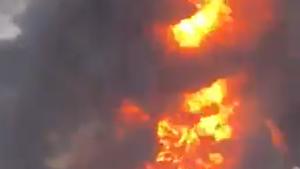 Un nou incendiu a izbucnit în portul din Beirut. VIDEO