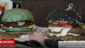 Bucuria împătimiților de Instagram: burgerii verzi sunt cei mai vânduți într-un restaurant din Cluj