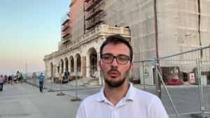 Lucrările la Cazinoul din Constanta scot la iveală frânturi de istorie. Legenda zice că e bântuit de ostași francezi