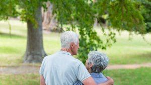 Cuplu în vârstă