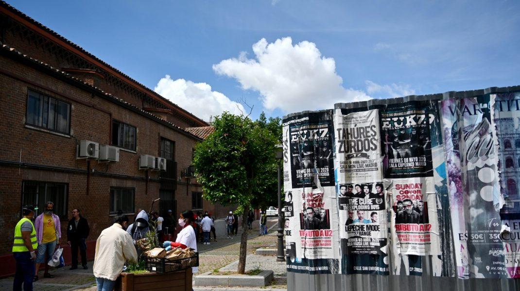 Madridul pune în carantină regiunile sărace afectate de COVID-19