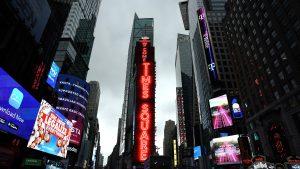 Fetivitățile din Times Square de Anul Nou vor fi avea loc online