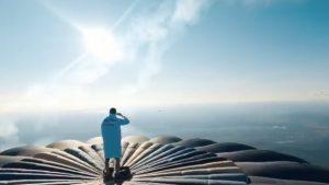 Magie sau caz real: Spectacol de acrobație la 1.500 de metri altitudine