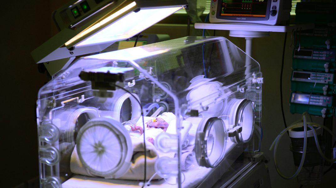 Secția ATI pentru bebeluși de la Spitalul Marie Curie