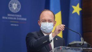 Ministrul de Externe, Bogdan Aurescu, este suspect de COVID-19