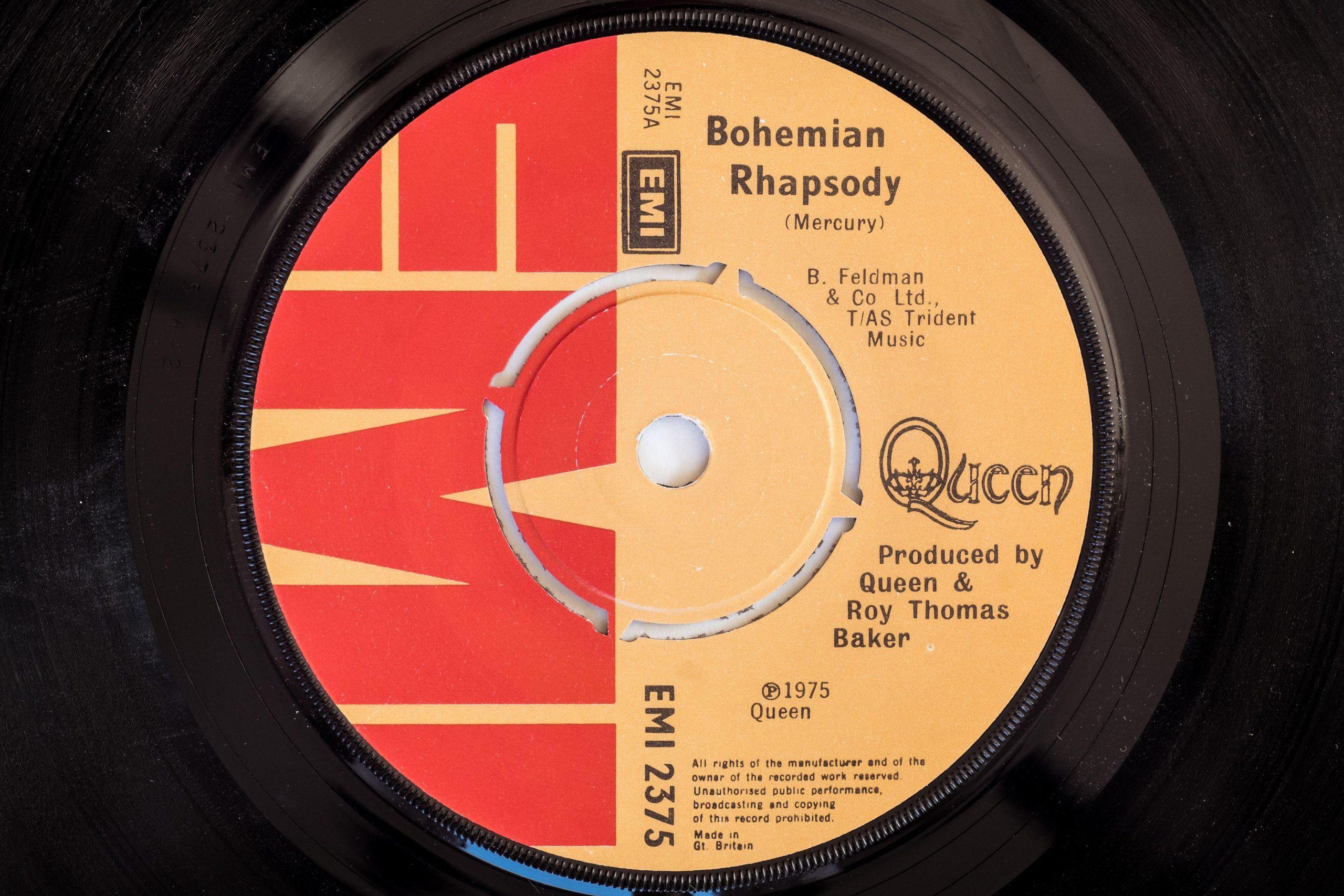 Bohemian Rhapsody este melodia numărul 1 din toate timpurile