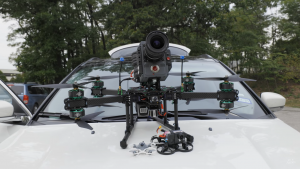 Cameră RED, de zeci de milioane de dolari, montată pe o dronă care ajunge la suta de kilometri într-o secundă