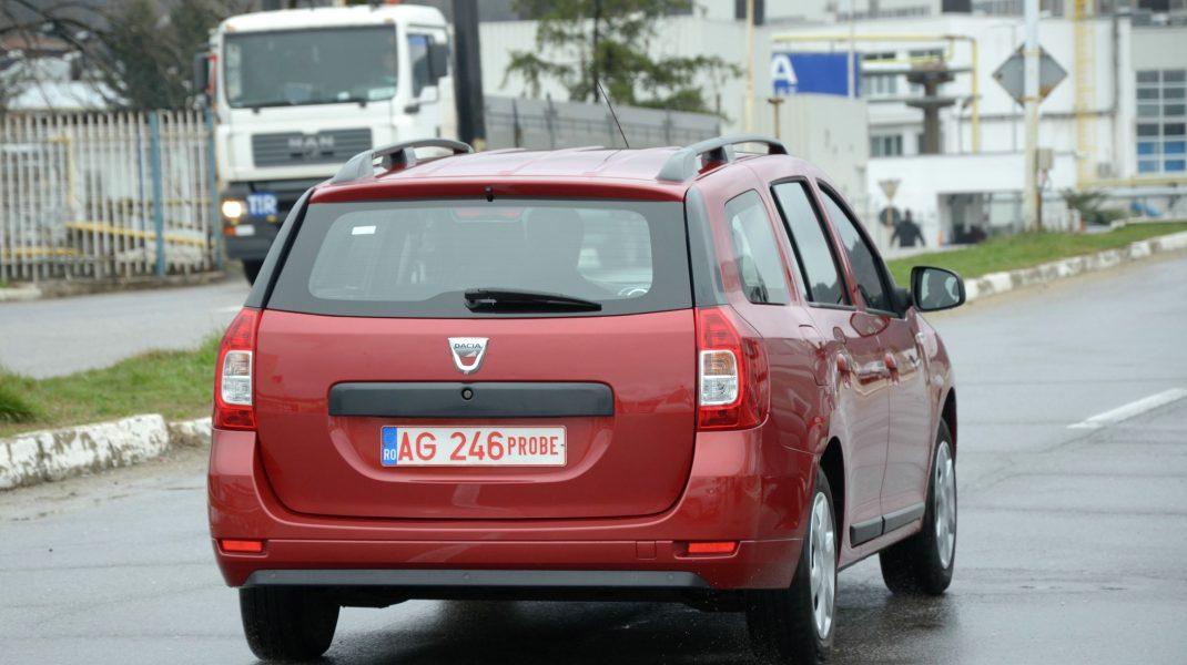 Grupul Renault opreşte producţia de Logan MCV la Mioveni