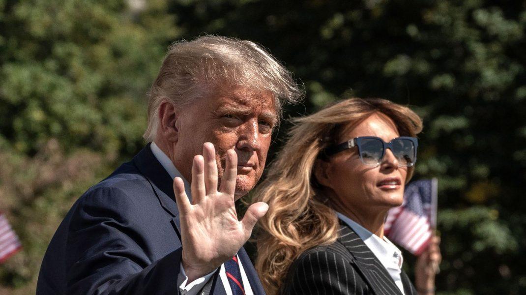 """Mesaje ironice pentru Trump, de la actori: """"Nu înțeleg cum a luat Melania virusul. Ei sunt distanțați fizic de când s-au căsătorit"""""""