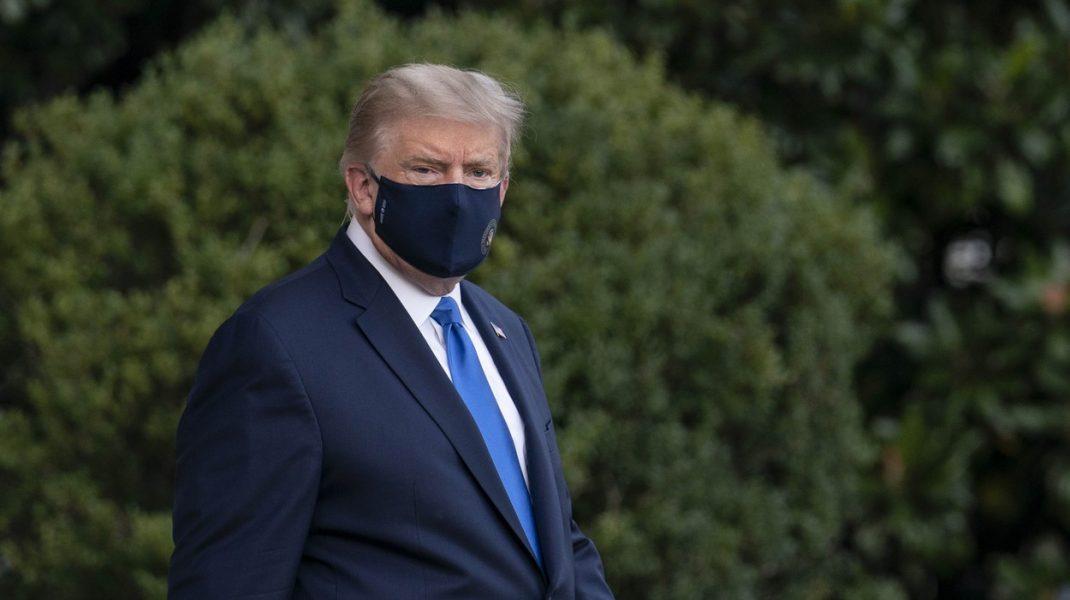 Donald Trump are coronavirus. Primul mesaj transmis de pe patul de spital