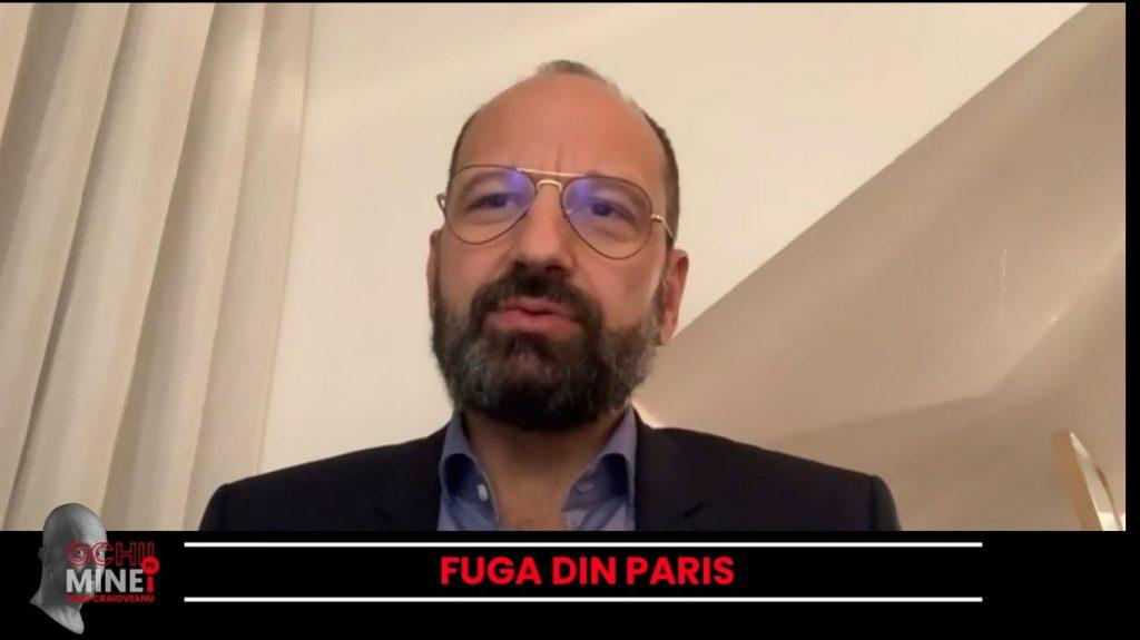 """Radu Lupescu, medic ATI la Strasbourg, la """"Ochii pe mine!"""": După Franța, și România ar putea intra în carantină, dacă numărul cazurilor va scăpa de sub control"""